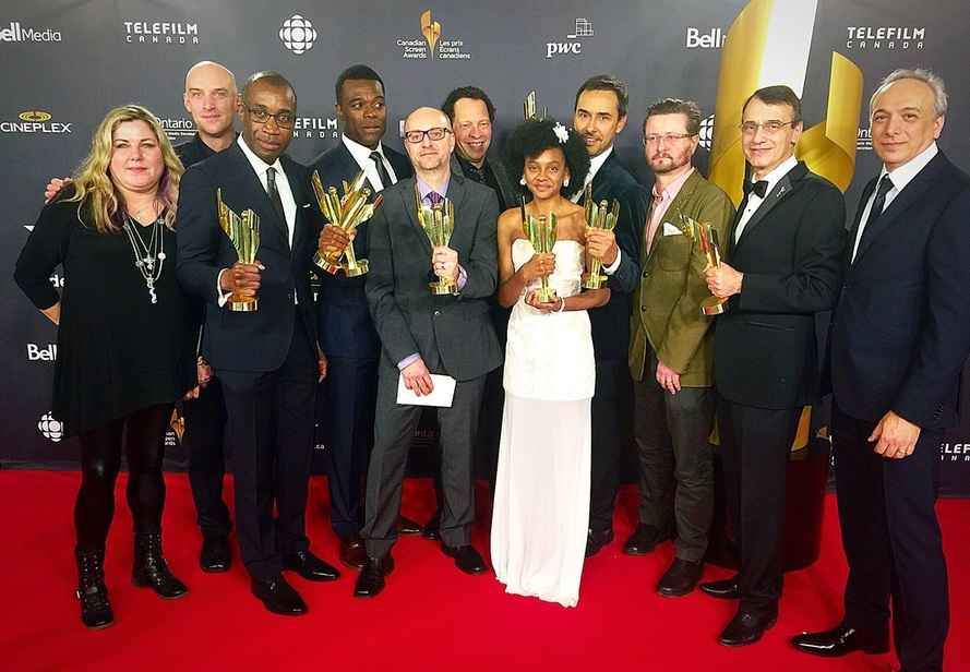 Clement Virgo Frank Morrone Best Sound 2016 Canadian Screen Award